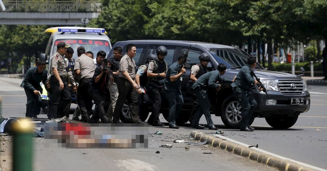 Tổng thống Indonesia gọi các vụ nổ ở Jakarta là hành động khủng bố