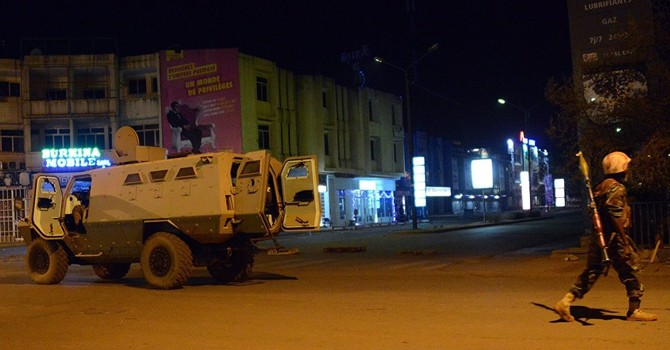 126 con tin được giải thoát khỏi khách sạn tại thủ đô Burkina Faso