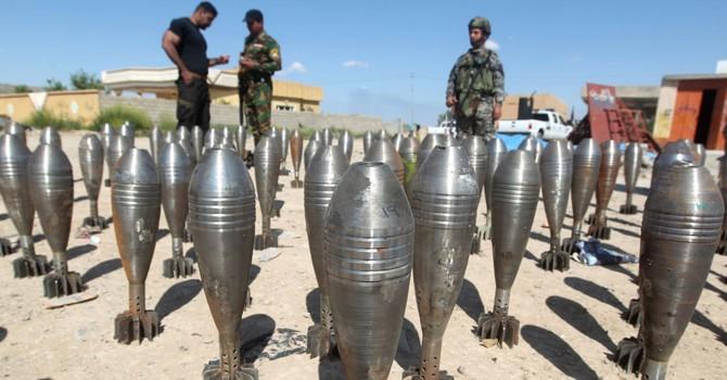 Syria: các cuộc không kích của ở Syria đã chặn đứng việc chiến binh tràn sang Iraq