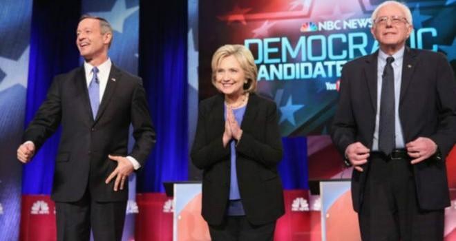 Ứng viên đảng Dân chủ tranh luận căng thẳng trên truyền hình Mỹ