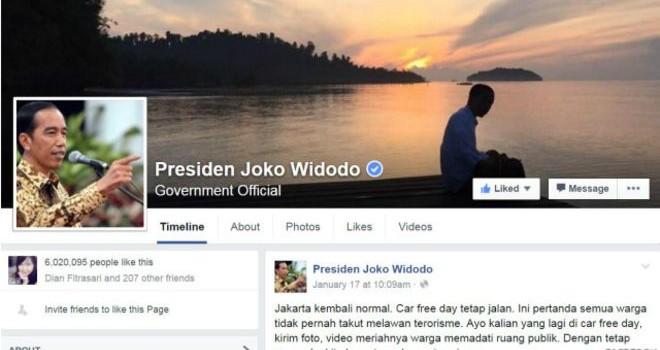 Giới chính trị lên Facebook để làm gì?