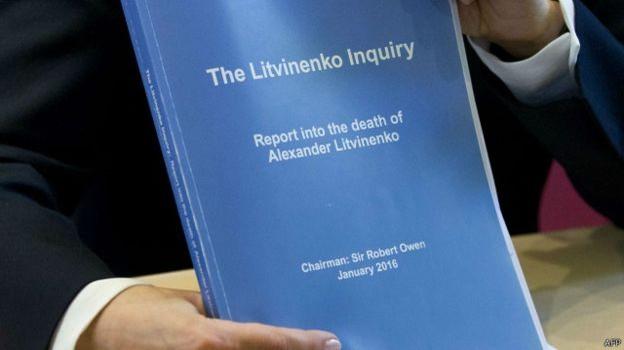 'Phúc trình vụ Litvinenko vô nghĩa'