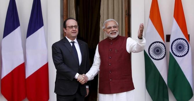 Ấn Độ muốn mua 36 chiến đấu cơ Rafale của Pháp