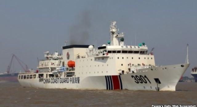 Tàu tuần tra cỡ đại của Trung Quốc 'đe dọa' Biển Đông