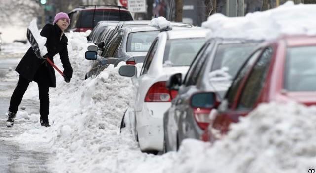 Bão tuyết gây thiệt hại 3 tỷ USD cho kinh tế Mỹ