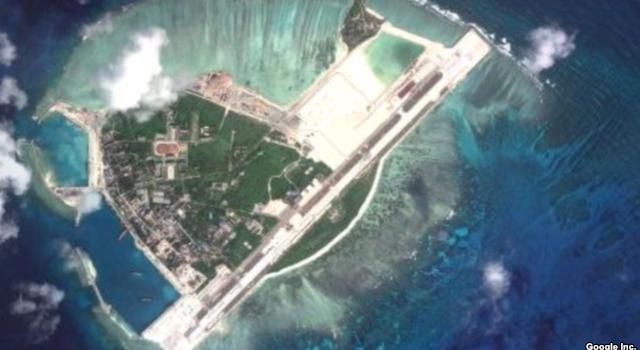 Trung Quốc xây đảo nhân tạo qui mô lớn ở Hoàng Sa