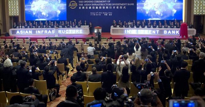 Ngân Hàng AIIB của Trung Quốc có bị chìm vì tranh chấp Biển Đông?