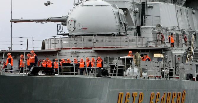 """Tuần dương hạm """"Peter Đại đế"""" sẽ được trang bị tên lửa siêu thanh chống hạm"""