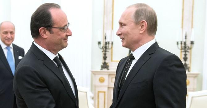 Dân Pháp coi ông Putin là De Gaulle mới
