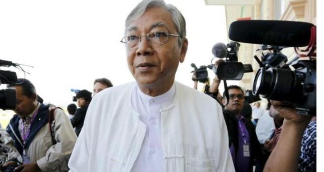 Ông Htin Kyaw được bầu làm Tổng thống Myanmar