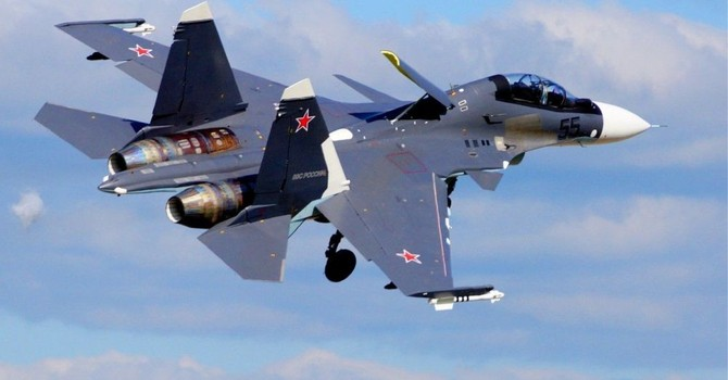 Những nước nào đang quan tâm đến tiêm kích Su-35 đáng gớm của Nga?