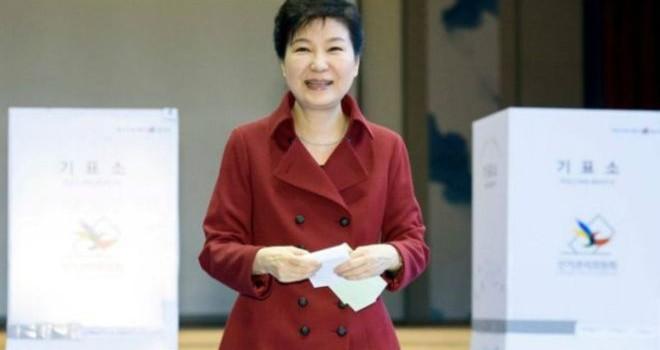Đảng cầm quyền Hàn Quốc mất đa số ghế ở quốc hội