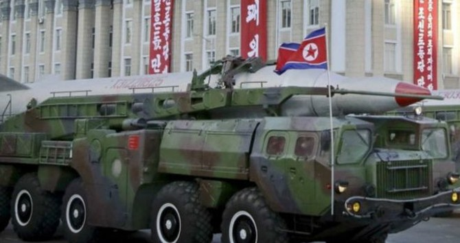 Vụ thử tên lửa của Triều Tiên thất bại