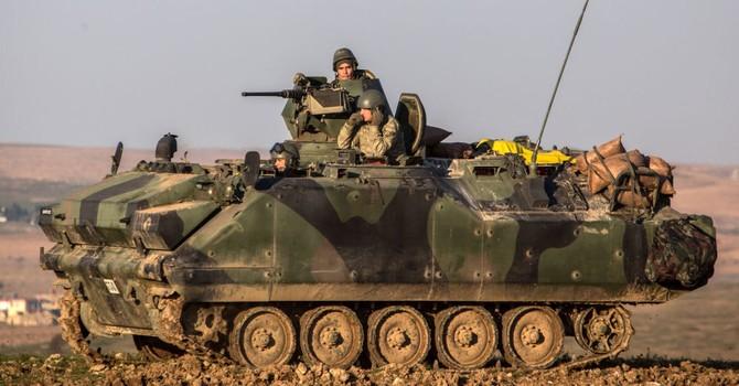 Thổ Nhĩ Kỳ triển khai tên lửa ở biên giới giáp Syria