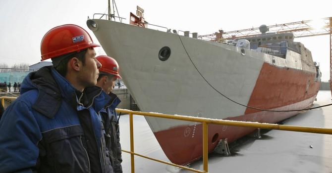 Ngày mai (27/4), Nga hoàn thành tàu khu trục Gepard thứ 3 cho Việt Nam