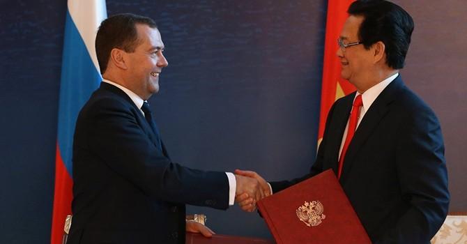 Nga mở cửa khu vực thương mại tự do với Việt Nam
