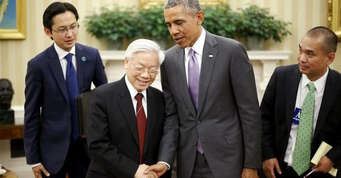 Mỹ có thể bỏ lệnh cấm vận vũ khí cho Việt Nam nhân chuyến thăm của ông Obama