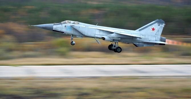 Máy bay chiến đấu Nga chặn máy bay do thám Mỹ tại Kamchatka