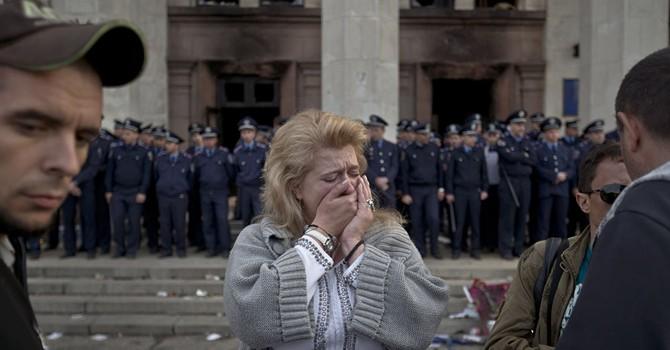 """Nghị sĩ Ukraine gọi vụ thảm sát Odessa là """"Ngày hội của dân tộc"""""""
