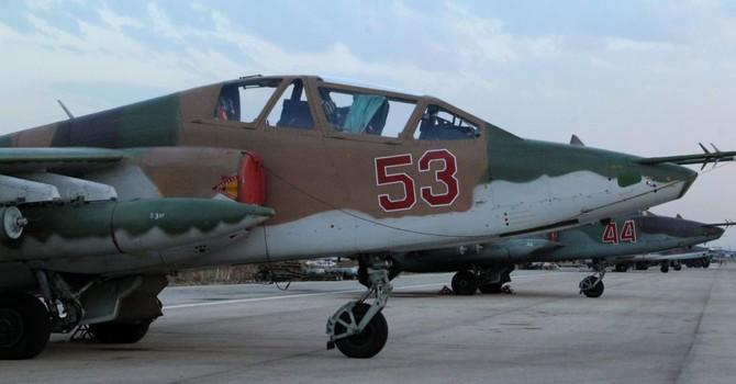 Nga rút máy bay tấn công Su-25 ra khỏi Syria