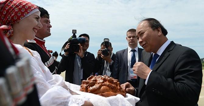 Thủ tướng Nguyễn Xuân Phúc đến Sochi tham dự Hội nghị thượng đỉnh Nga –ASEAN