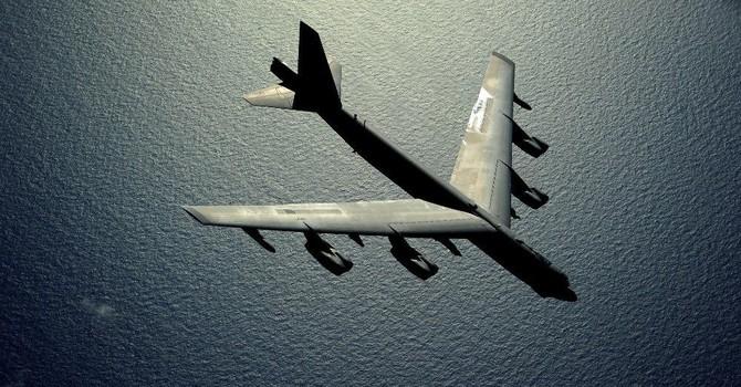 Máy bay ném bom B-52 của Mỹ bị rơi ở Guam