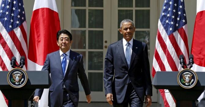 Hội đàm Obama-Abe trước Thượng đỉnh G7