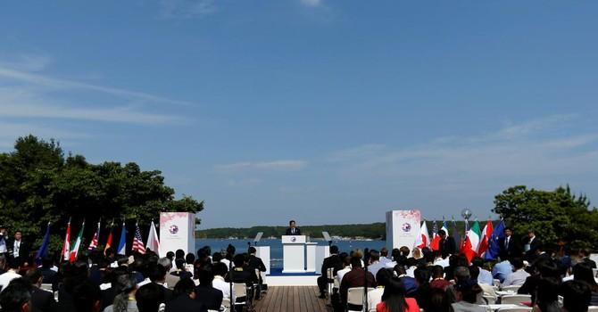 G7 quan ngại tình hình Biển Đông và biển Hoa Đông