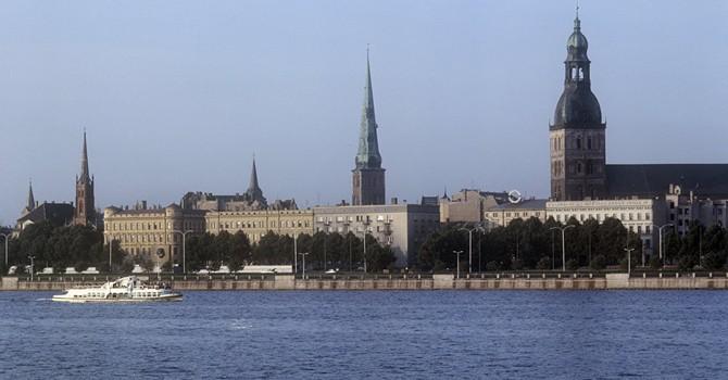 Latvia lại tuyên bố phát hiện tàu chiến của Nga ở gần biên giới