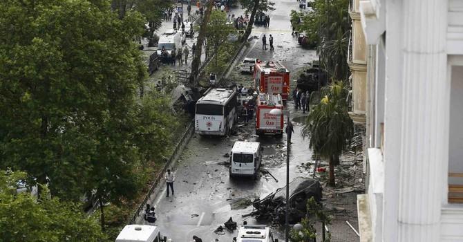 Tấn công khủng bố ở Istanbul, ít nhất 11 người thiệt mạng