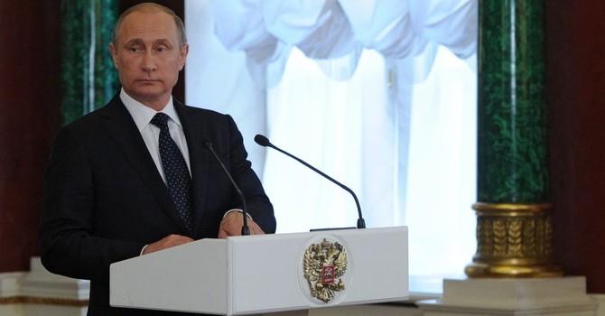 Tổng thống Putin tặng Huy chương Hữu nghị cho các cán bộ dầu khí Việt Nam