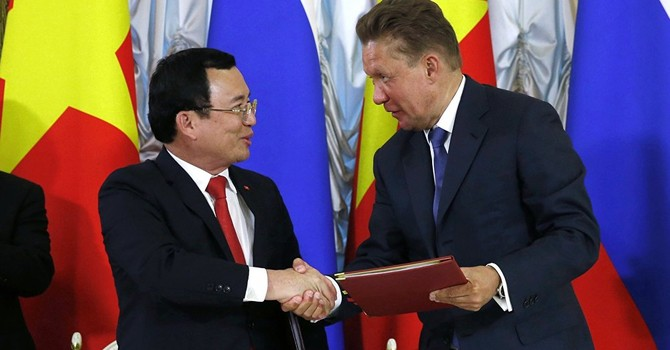"""""""Đại gia"""" dầu mỏ Nga và PetroVietnam ký hợp đồng cung cấp dầu mỏ dài hạn"""