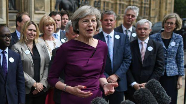 Bà Theresa May trở thành ứng viên duy nhất tranh chức Thủ tướng Anh