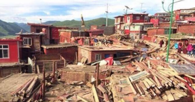 Quốc tế kêu gọi Trung Quốc ngừng phá hủy tu viện Tây Tạng ở Tứ Xuyên