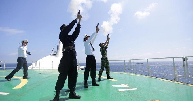 """Phe diều hâu Trung Quốc đòi """"đánh Mỹ"""" ở Biển Đông"""