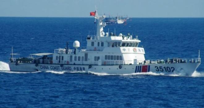Đội tàu Trung Quốc áp sát Senkaku của Nhật