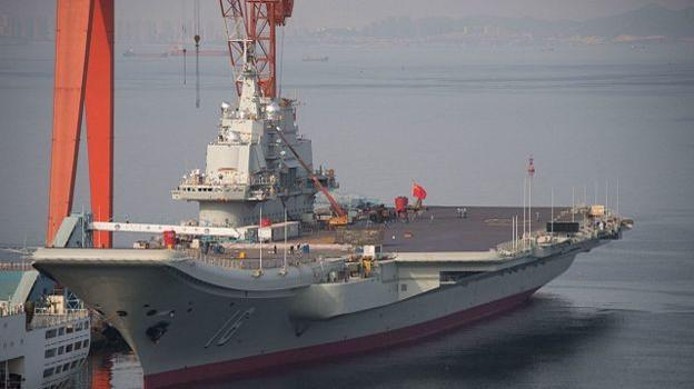 Trung Quốc sắp hạ thủy tàu sân bay mới ở Hải Nam?