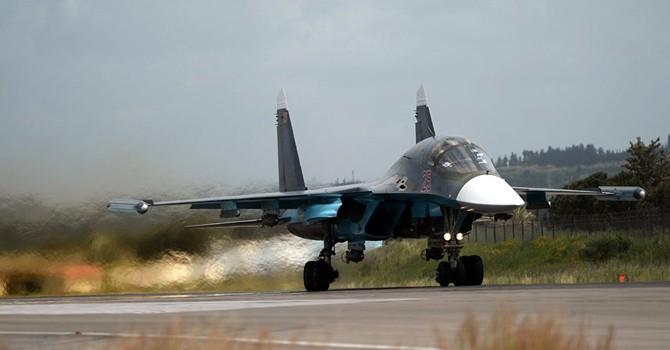Su-34 của Nga tiêu diệt nhân vật thứ hai của IS ở Syria và 40 tay súng khủng bố khác