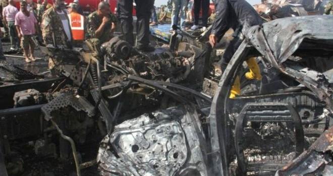 Tấn công dây chuyền bằng bom ở Syria