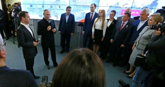 'Đảng của ông Putin' thắng lớn