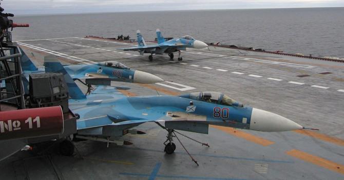 Tướng Shoigu điều tàu sân bay Đô đốc Kuznetsov tới bờ biển Syria