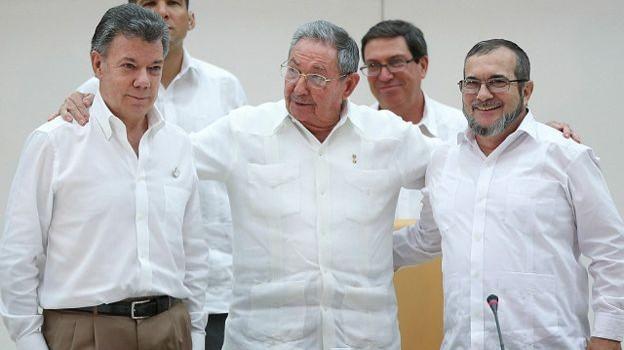 Thỏa thuận hòa bình lịch sử ở Colombia