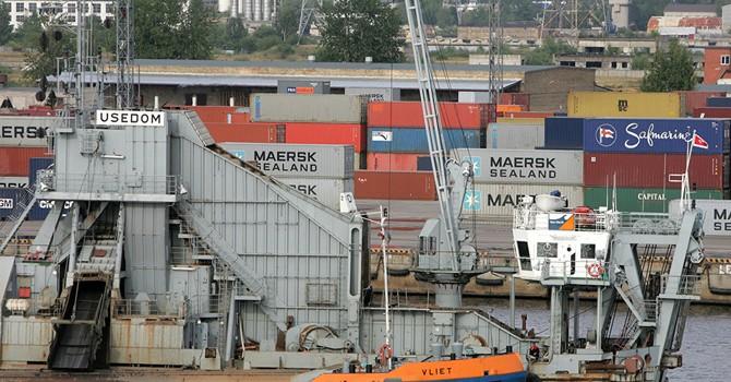 Vùng Baltic mất hơn 1 tỷ euro vì Nga không dùng cảng Latvia, Estonia và Litva