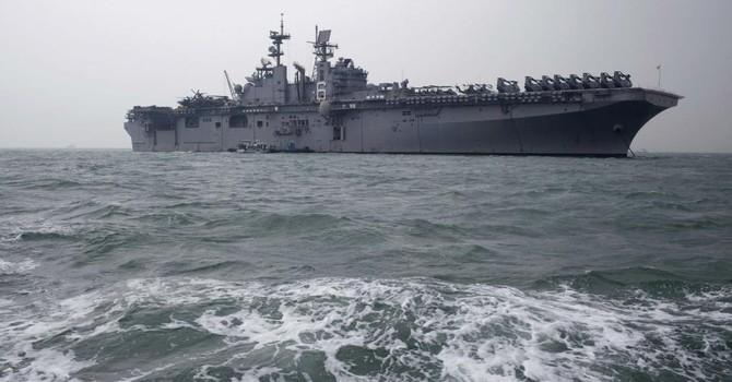 """Chiến hạm Mỹ tập trận """"diệt tàu ngầm và phòng không"""" tại Biển Đông"""
