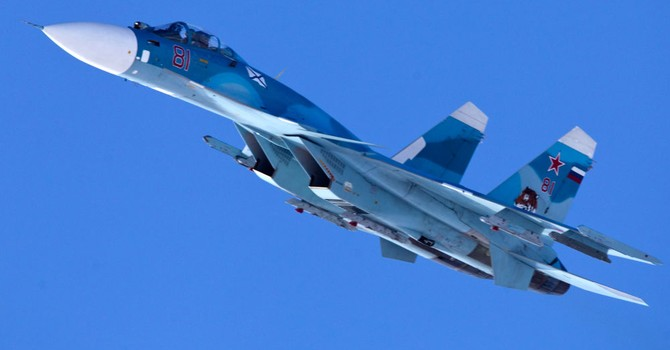 """Chiến đấu cơ từ chiến hạm """"Đô đốc Kuznetsov"""" gầm rú trên bầu trời Syria"""