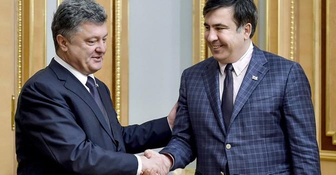 """Cựu Thống đốc Saakashvili giải thích lý do """"thất vọng"""" về Tổng thống Poroshenko"""