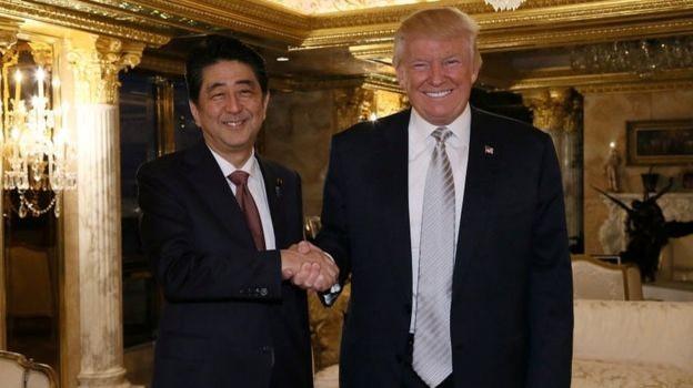 Thủ tướng Nhật Shinzo Abe 'tin tưởng' ông Donald Trump