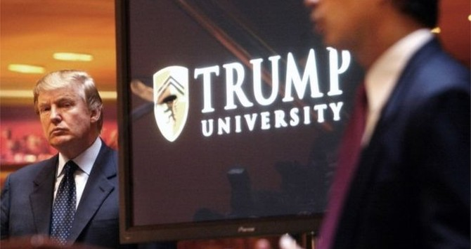 Ông Trump dàn xếp xong vụ kiện Đại học Trump