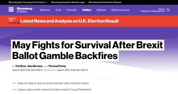 Thủ tướng Anh phải tranh đấu để 'tồn tại' sau khi 'thua canh bạc'