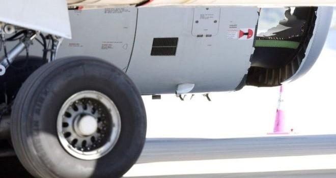 Máy bay của China Eastern 'thủng vỏ động cơ' nhưng vẫn hạ cánh an toàn